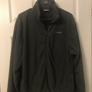 Mens Columbia zip up sweater size M